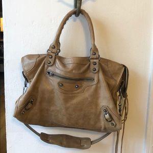 Authentic Balenciaga City Bag, Brown